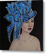 Velvet Metal Print by The Art With A Heart By Charlotte Phillips