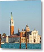 Venetian Dove Metal Print