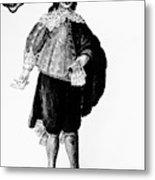 Venetian Man, 18th Century Metal Print