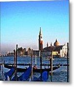 Venezia City Of Islands Metal Print