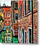 Venezia Mi Amor Metal Print