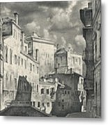 Venice. A View From The Other Bridge Metal Print