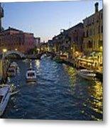 Venice At Dusk Metal Print