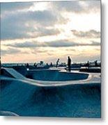 Venice Beach Skate Park Metal Print