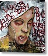 Venice Beach Wall Art 1 Metal Print