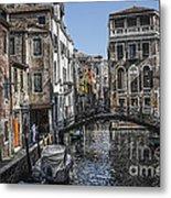 Venice Canal 5 Metal Print