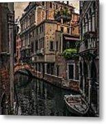 Venice Canal 8 Metal Print
