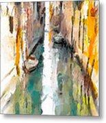 Venice Canals 0 Metal Print