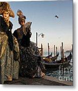 Venice Carnival '15 IIi Metal Print