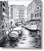 Venice City Of Love Metal Print