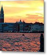 Venice Colors Metal Print