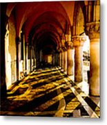 Venice Hallway In The Morning Metal Print