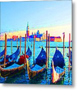 Venice Hues Metal Print