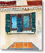 Venice Italy Building Metal Print by Robin Luther