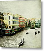 Venice Italy Magical City Metal Print