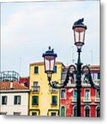 Venice Lamp Metal Print