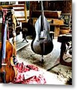 Venice Music 1 Metal Print by Dana Patterson