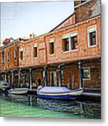 Venice Reflections - Italy Metal Print