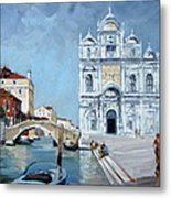 Venice - Scuola Di San Marco Metal Print