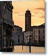 Venice Sunrise  Metal Print