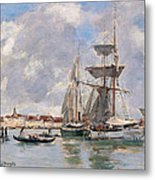 Venice. The Grand Canal Metal Print