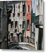 Venice Waterways Metal Print