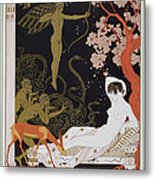 Venus Metal Print by Georges Barbier