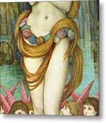 Venus Metal Print by John Roddam Spencer Stanhope