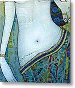 Venus With Doves Metal Print