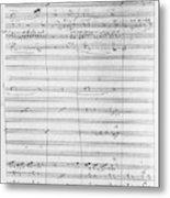 Verdi Rigoletto, 1850 Metal Print