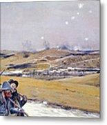 Verdun, 1916 Oil On Canvas Metal Print