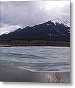 Vermillion Lakes, Banff National Park - Panorama Metal Print