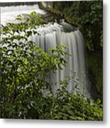 Vermillion River Falls 2 A Metal Print