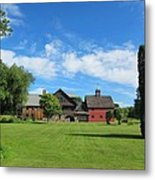 Vermont Country Home Metal Print