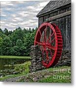 Vermont Grist Mill Metal Print