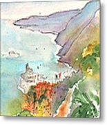 Vernazza In Italy 06 Metal Print