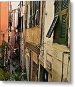 Vernazza Street Metal Print