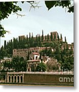Verona On The Adige Metal Print