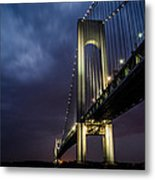 Verrazano-narrows Bridge Metal Print