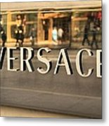 Versace Metal Print
