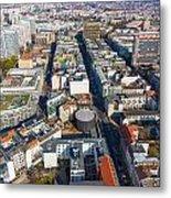 Vertical Aerial View Of Berlin Metal Print