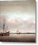 Verwer's View Of Hoorn Metal Print