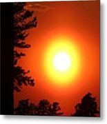 Very Colorful Sunset Metal Print