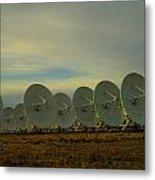 Very Large Array Near Socorro New Mexico Metal Print
