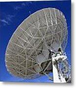 Very Large Array Of Radio Telescopes 4 Metal Print