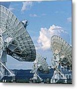 Very Large Array Of Radio Telescopes Metal Print