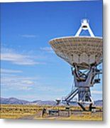 Very Large Array - Vla - Radio Telescopes Metal Print by Christine Till