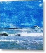 Vesterhavet The North Sea Metal Print
