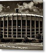 Veterans Stadium 1 Metal Print by Jack Paolini