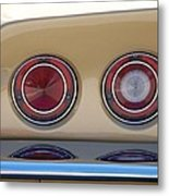 Vette Lights Metal Print